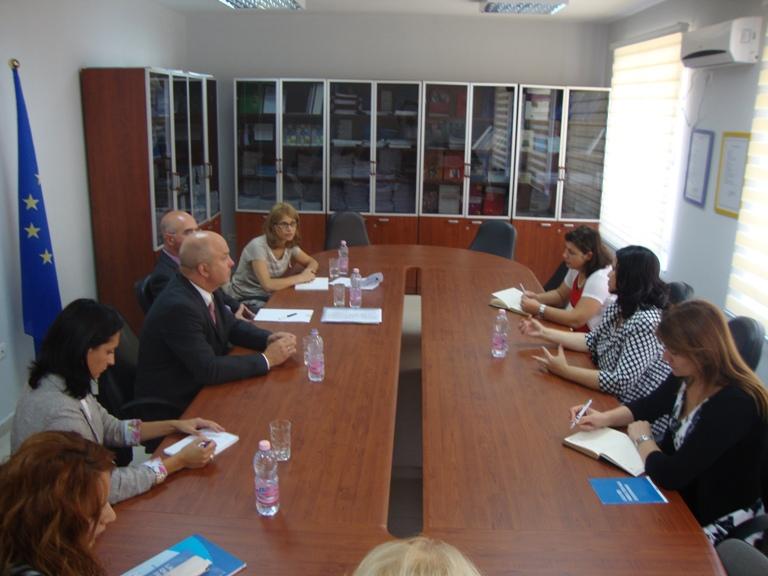 Komisioneri për Mbrojtjen nga Diskriminimi Znj. Irma Baraku pret Z. Nils Muižnieks , Komisioner për të Drejtat e Njeriut në Këshillin e Europës