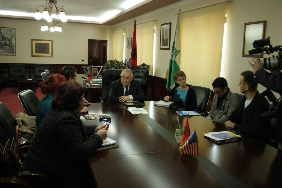 4 Mars 2013.Takim i Kryetarit të Bashkisë Elbasan me Përfaqësues te Ambasadës Pink/LGBT Pro