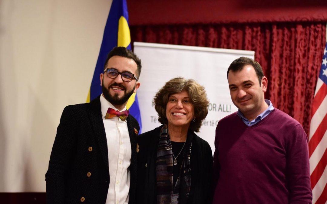 Komisioneri për Mbrojtjen nga Diskriminimi, Robert Gajda takoi në Tiranë znj.Jean Freedberg zv.drejtor i Human Rights Campaign (HRC)