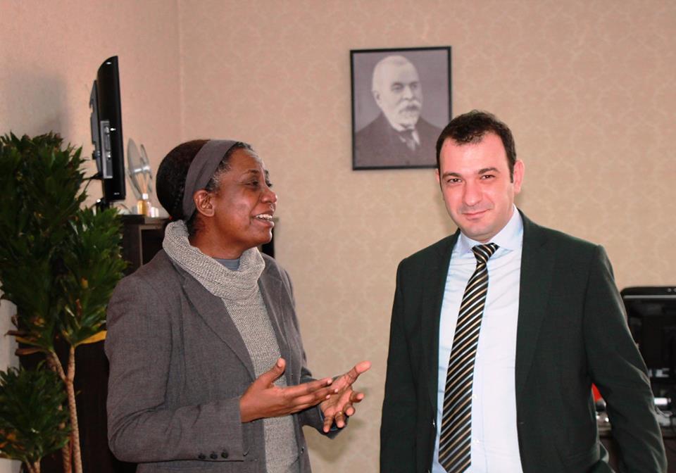 Komisioneri për Mbrojtjen nga Diskriminimi, z. Robert Gajda priti në një takim drejtoreshën e UNDP-së, znj. Limya Eltayeb