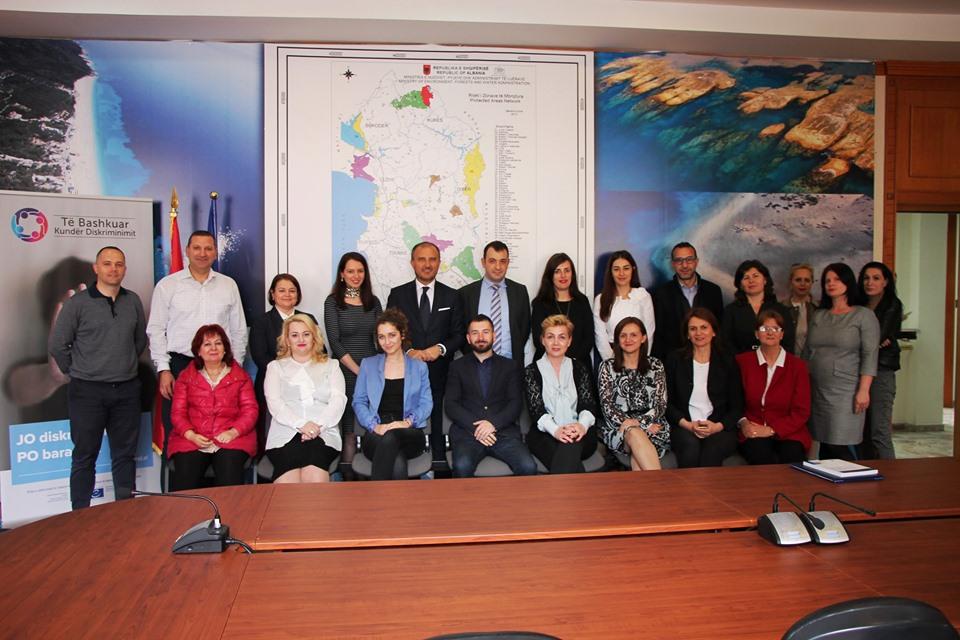 Komisioneri Gajda pret ambasadorin e delegacionit të BE në Tiranë, Z. Soreca