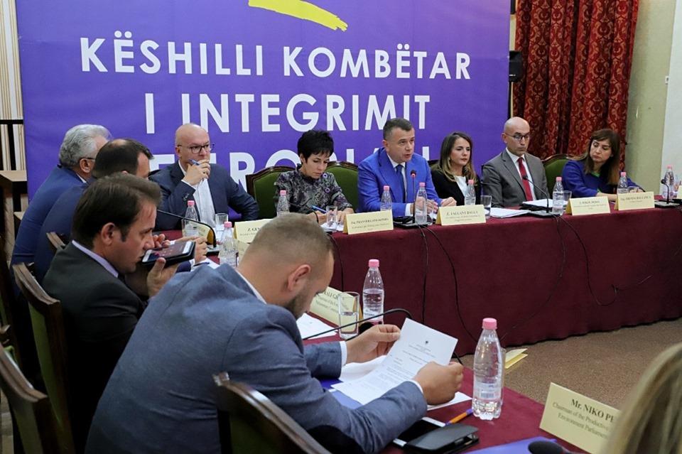 KMD në takimin e Këshillit Kombëtar të Integrimit Europian